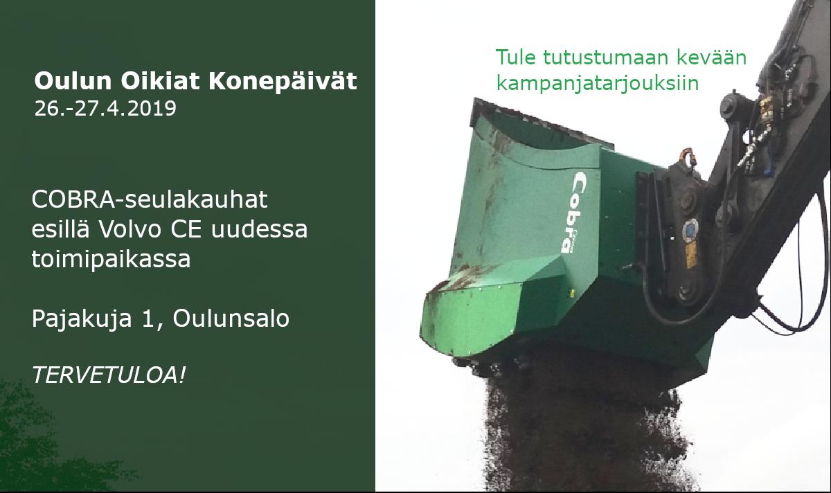 Oikiat Konepäivät 2019 – Oulu